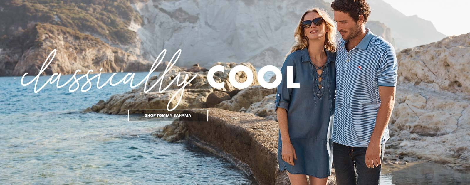 classically cool tommy bahama clothing