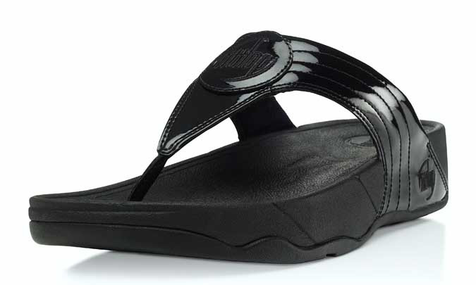 ab623d883 FitFlop Walkstar 3 Sandals - Black Patent - Size 5 Only