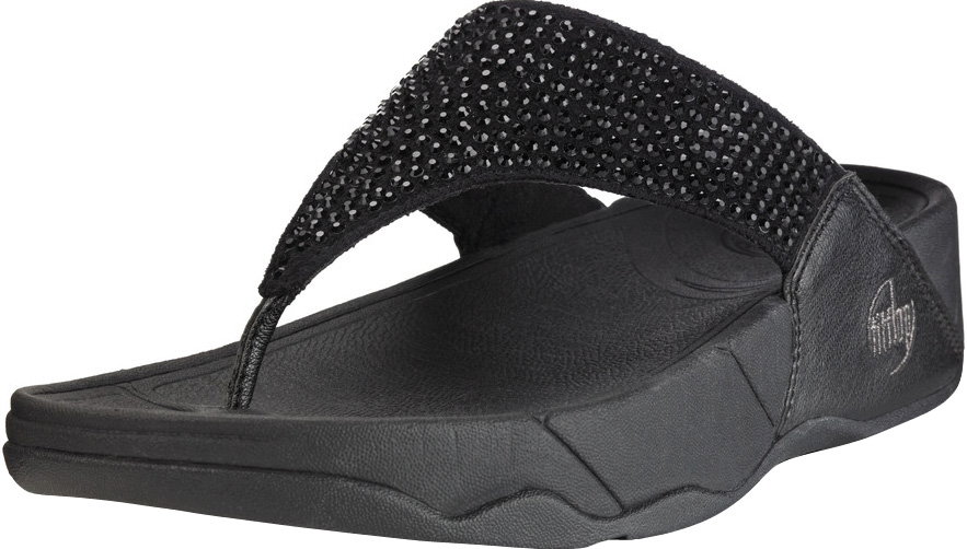 6c3abb3bcffe92 FitFlop Rokkit Sandals in Black Diamond