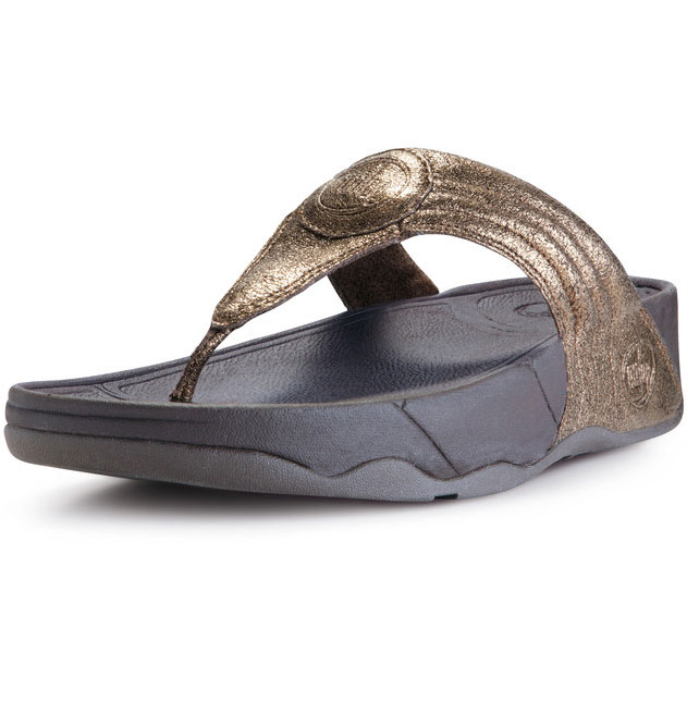 fitflop walk star 3 bronze pillar