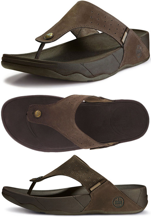 FitFlop - FitFlop Trakk Sandals Chocolate