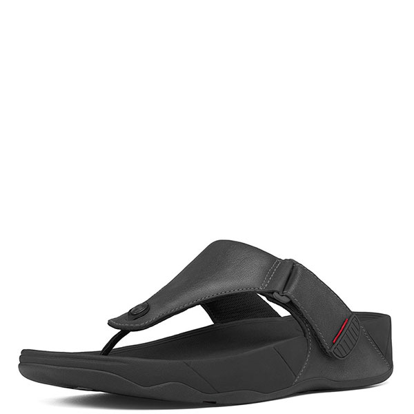 cd18b826c0f65 FitFlop™ Men s Trakk II Sandals in All Black - Free Shipping and Gift with  Purchase
