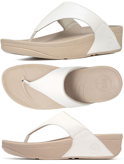 b44fbaa41 FitFlop™ Lulu Sandals Urban White - FitFlop™ Lulu - FitFlop™ Sandals