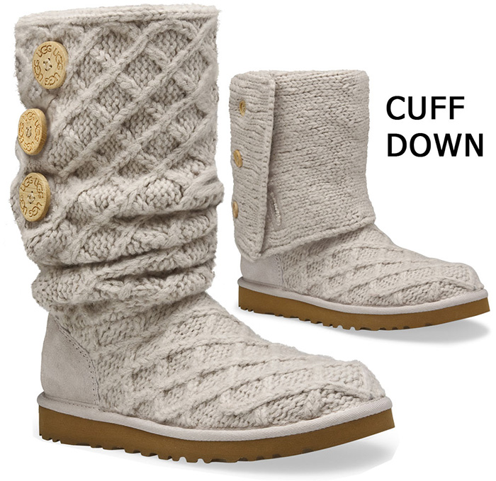 Ugg Women S Lattice Cardy Boots Sand Size 6 Only