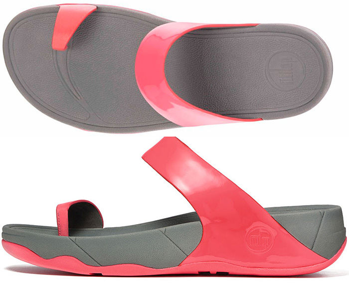 Fitflop Sho Sandals In Punch Pink In Size 7 8 Only