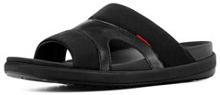 99ebc547a6ec31 FitFlop™ Men s Freeway II Sandals in Black - Free Shipping and Gift ...