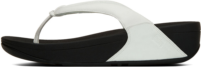 493863be06788f NEW WMNS FITFLOP SWIRL URBAN WHITE A93-194 THONG SANDAL