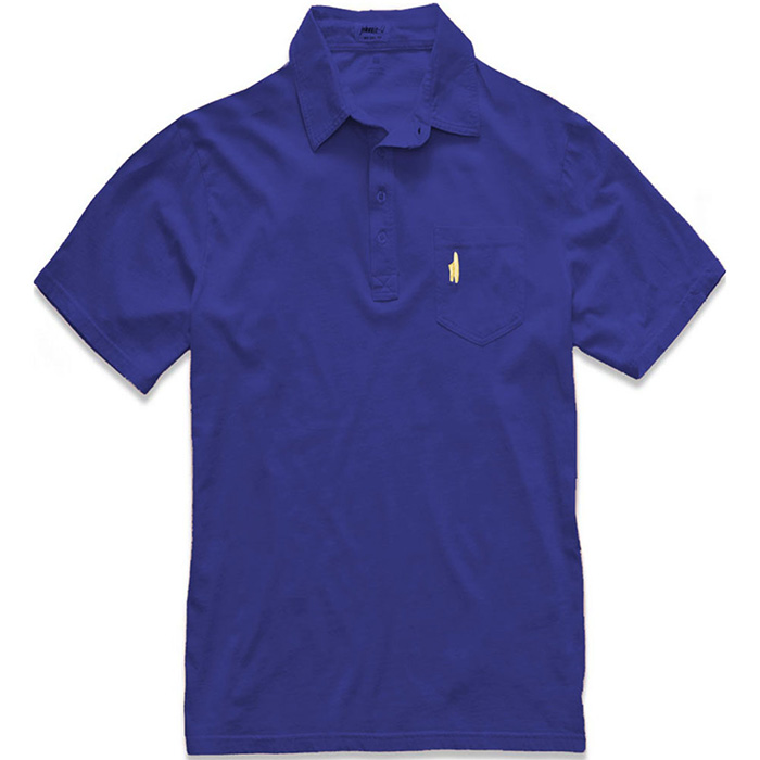 Johnnie O 4 Button Polo Shirt In Blueberry