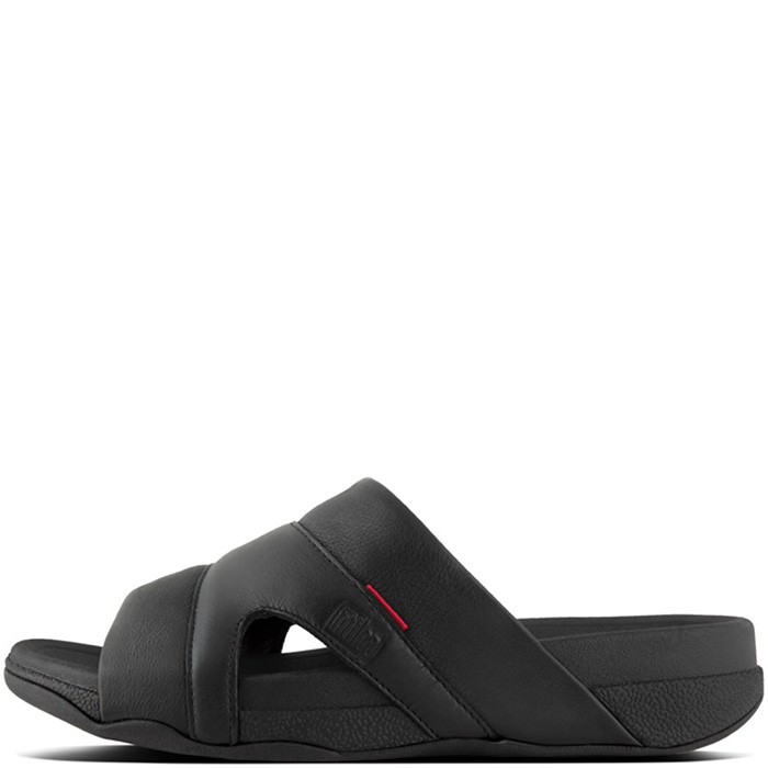 38917a0373b1bc FitFlop Freeway Sandals Black - Mens Shoes - Island Trends