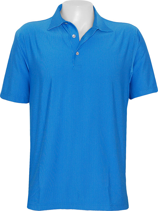 d062036c42 Peter Millar Mighty Stripe Performance Lisle Polo Shirt