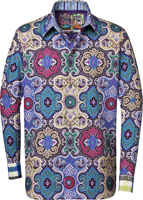 Robert Graham Shirts Men Robert Graham Mens Twist Big