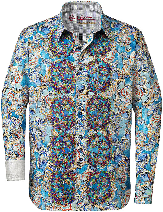 Robert graham mens grand master limited edition sport for Where are robert graham shirts made