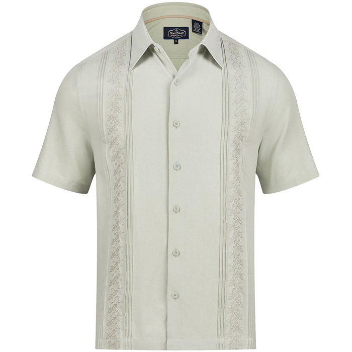 3369473eb6 Nat Nast Luxury Originals | Embroidered Shirts | Cuban Style Shirt