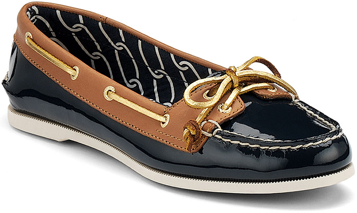 Sider Women's Audrey Boat Shoes - Navy