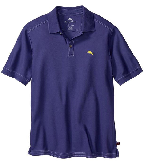 Pandora purple tommy bahama the emfielder polo shirt for Tommy bahama polo shirts on sale