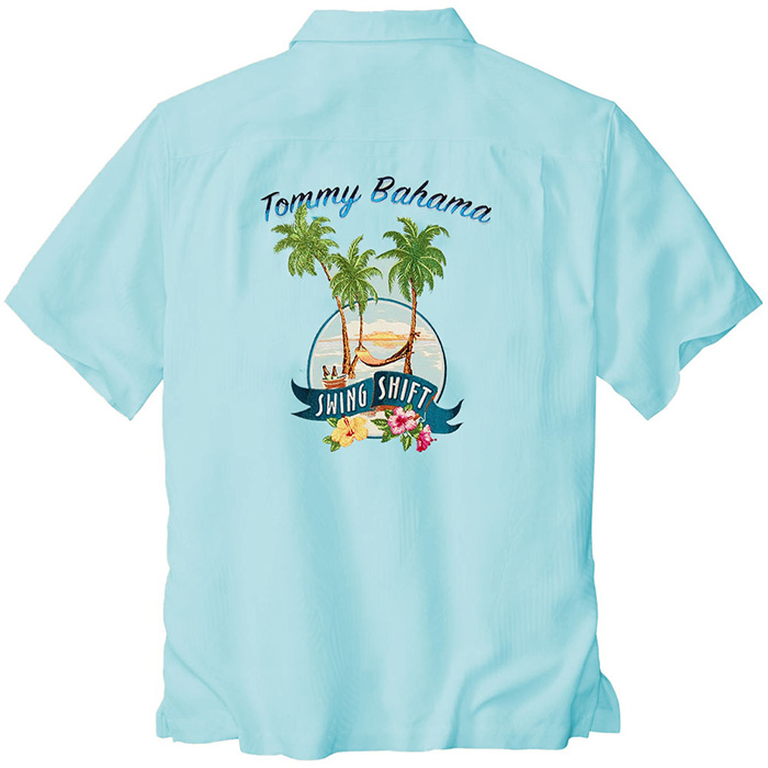 Oceanfront Tommy Bahama Swing Shift Signature Camp Shirt