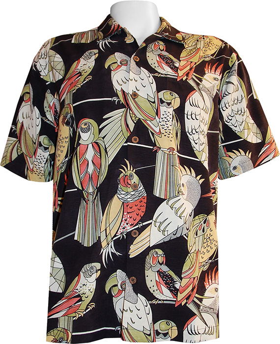 Tommy Bahama Parrot Top Camp Shirt Tommy Bahama Camp