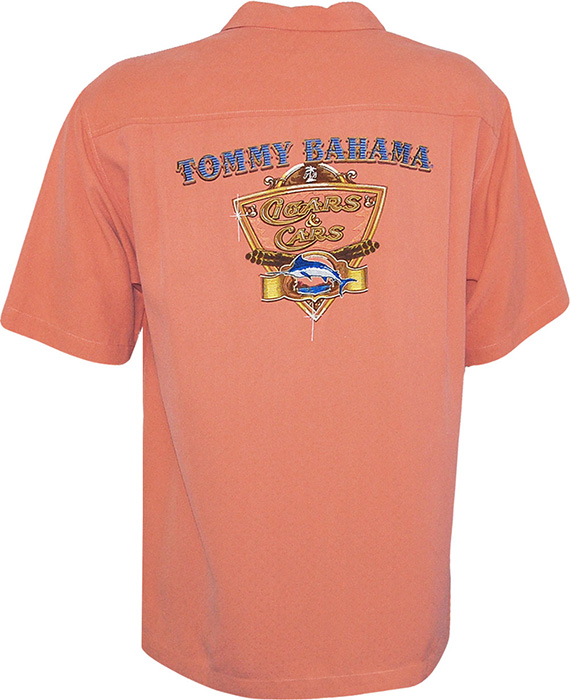 Tommy Bahama Cigars Amp Cars Signature Camp Shirt Tommy