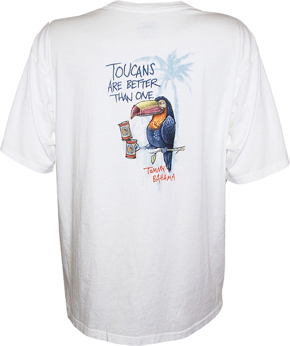 Tommy bahama toucans are better t shirt tommy bahama t for Where to buy tommy bahama shirts