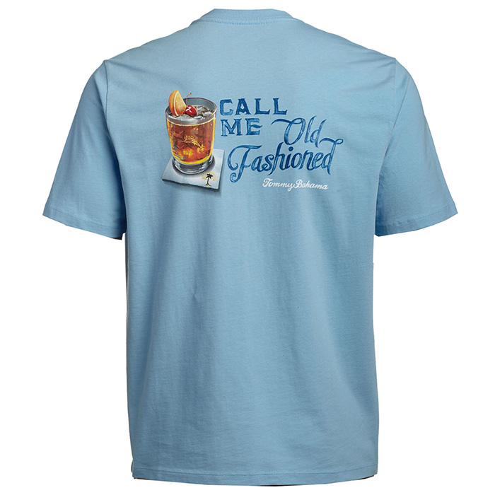 a1143d0de4b1 Call Me Old Fashioned T-Shirt in Aqua Ice