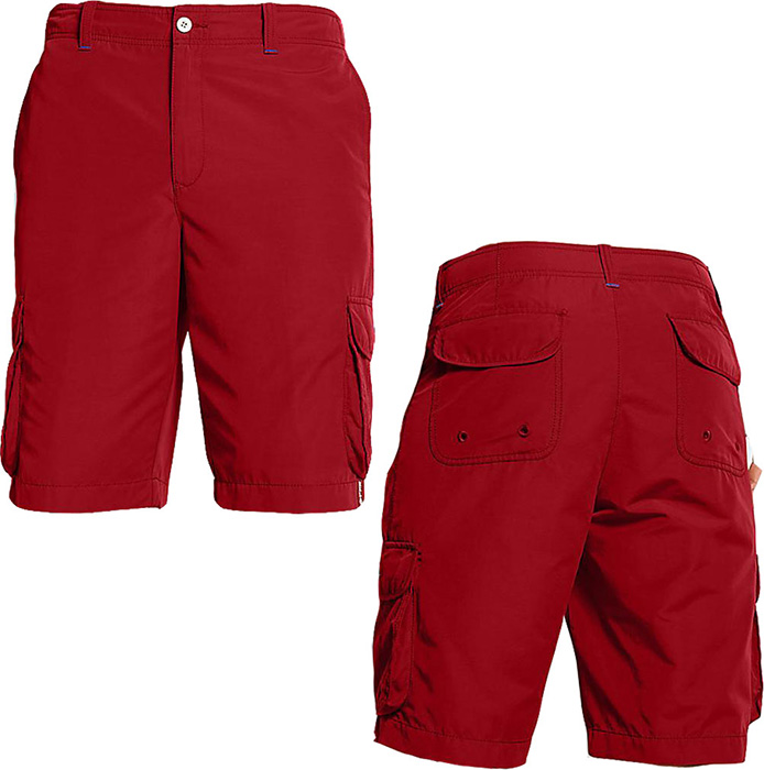 Red Mens Shorts - The Else
