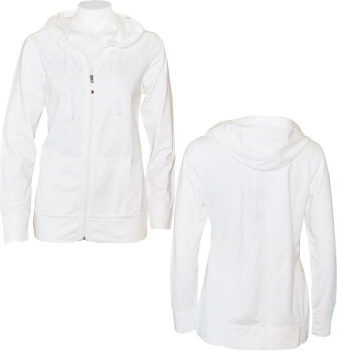 a6d79985f Tommy Bahama Women's Alani Terry Full Zip Hoodie White - Island Trends