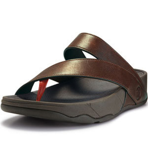 7e82220c2829a FitFlop - FitFlop Sling M Leather Sandals Navajo Brown - FitFlop Mens  Sandals - FitFlop Spring 2012 Mens Collection