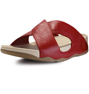 133610b2d159c FitFlop - FitFlop Xosa Sandals FF Red - FitFlop Mens Sandals - FitFlop  Spring 2012 Mens Collection