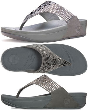 fitflop flare cool gray