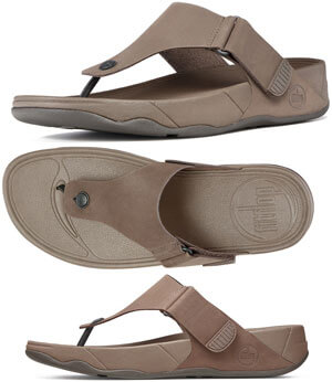 2d62c22344a FitFlop™ Men s Trakk II Sandals in Chocolate in Size 12 Only