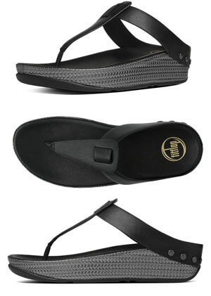 f2bafb90e FitFlop Ibiza Sandals in Black - Free Shipping on Purchase of 95