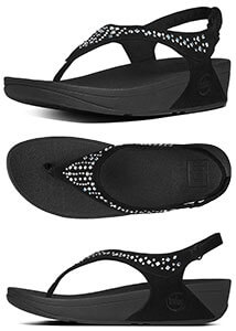 a190aacdfa8b8 Black FitFlop Women s Novy Backstrap Sandals - Free Shipping