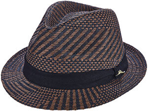 548f9b8b33707 Brown Tommy Bahama Multi Color Tropical Fedora Hat - Free Shipping