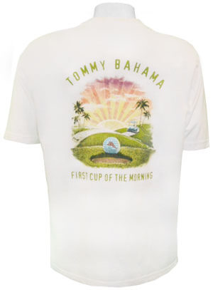 Tommy Bahama First Cup T Shirt Tommy Bahama Golf Shirt
