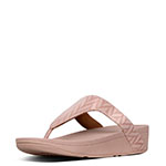 2bc9dd1e3 FitFlop Lottie Chevron Sandals - Oyster Pink