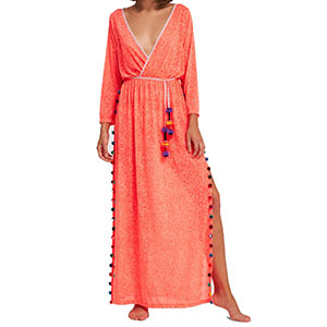 a9a902038b8 Pitusa Santorini Mini Dress Cover Up - Watermelon